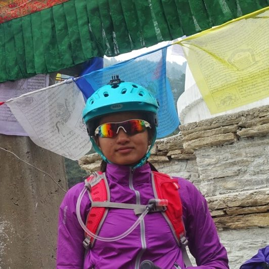 Roja KC- Guide in Nepal